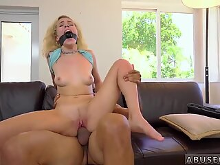 Rough throat fuck Kimberly Moss gets handled like a great little bitch