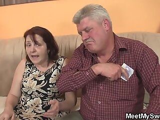 His innocent nymph seduced by not granny and old daddy