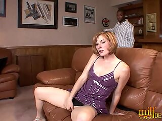 Redhead Mom goes Interracial