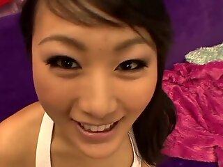 Cute Asian f ucked POV