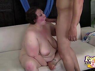 Titty Fucking BBW Jellibean Gets It Doggystyle