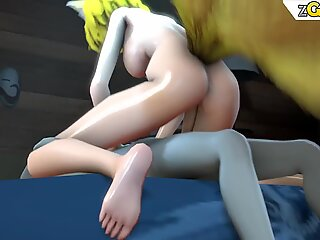 BDSM Comic Book - Slaves in latex spanked and punished hard Horror Anal