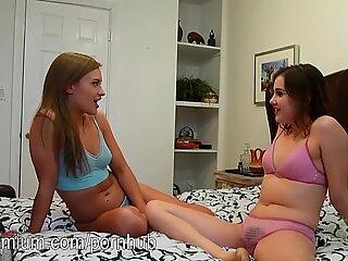 April Brookes and Kasey Warner love to make love