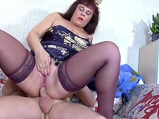Young Boy fuck mom in their ASS