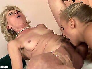 Beauty Barbie White pleasures granny Margarette