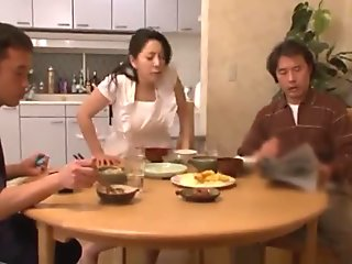 Japanese boy molested dad's new wife continuously - Pt2 On OnMilfCam.com
