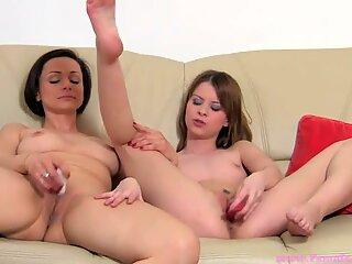 Mature and teen lesbians