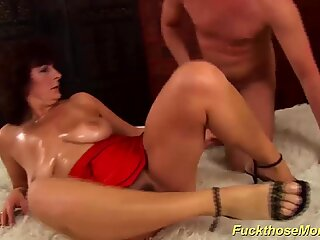 hairy moms first big cock fucking