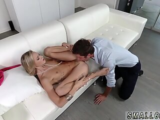 Wife cheating with man amateur Tiniest In The Agency