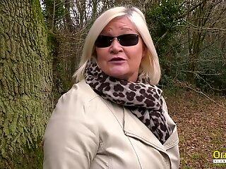 OldNannY British Busty Mature Lesbian Adventure