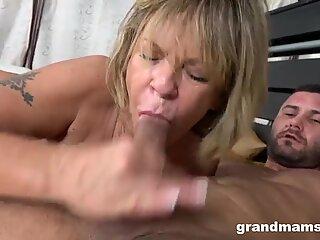 Grandma Fucks Like a Little Whore