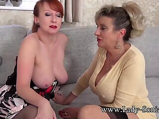Lady Sonia and Red XXX love watching you masturbate