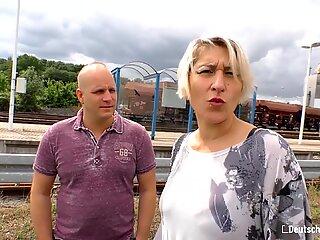 Deutschland Report - Busty Fat Ass Old German MILF Homemade Porn Video With Her Amateur Husband