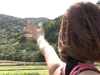 Best Japanese chick in Horny Outdoor, HD JAV movie