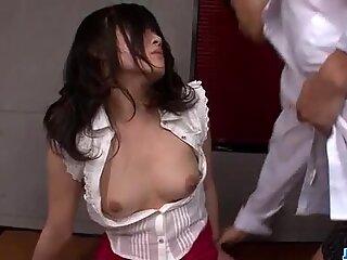 Kyoka Mizusawa ravishing porn session on cam