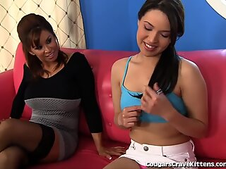 Innocent Teen Girl Seduced By Horny MILF