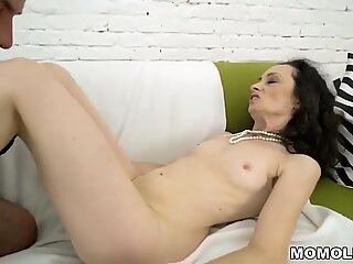 Cockhungry grandma got penetrated