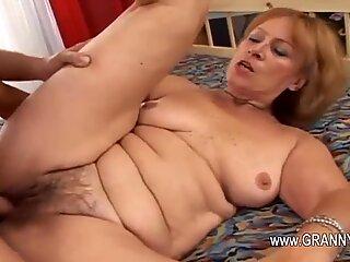 Fat mature loving hard