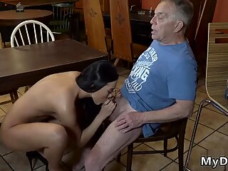 Old grandma Can you trust your gf leaving her alone with your father?