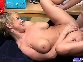 MILF Trip - Ridiculously horny MILF takes facial after getting fucked - Part 1