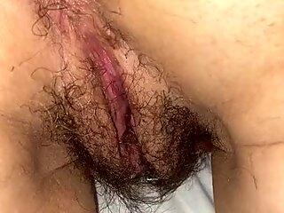 Wet hairy wife