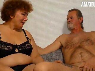 AMATEUR EURO - BBW German Granny Heike R. Fucks Hardcore With Hubby