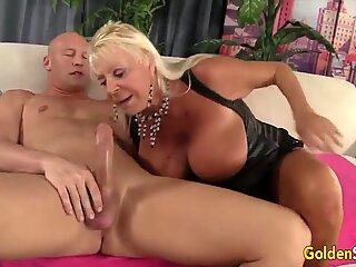 Golden Slut - Older Lady Blowjob Compilation Part 21