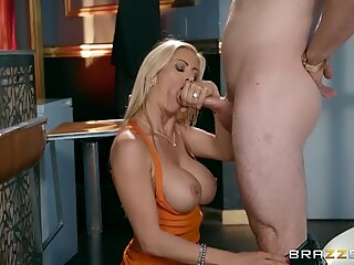 Dirty wife cheats with bar man - Brazzers