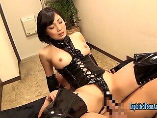 Jav Idol Hirose Umi Fucks In Bondage Gear Massive Tits Really Sexy AV Star Many Positions