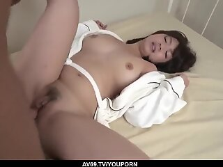 Great morning sex for busty wife, Wakaba Onoue - More at 69avs.com