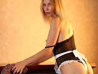 Slutty Maid Gets Fucked Hard and Creampied By Stranger - Short Version