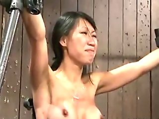 Asian painful wet pussy fuck