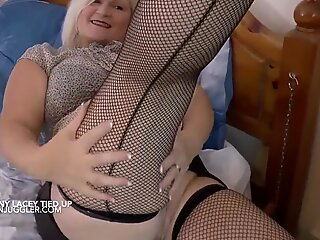 Merlin fucks a big tits Granny