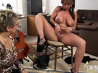 Old lesbos with big tits