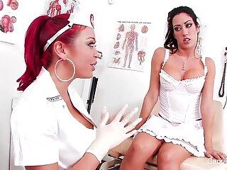 Capri gets a sexy checkup from Nurse Mia