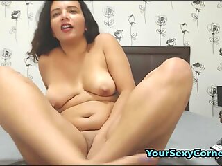 Cute Latin Babe Enjoys Anal Toying And Double Penetration