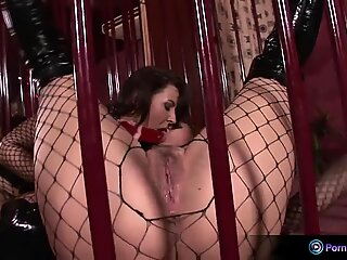Mandy Bright and Maria Belucci extreme dildo frolicking
