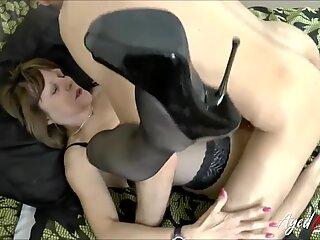 AgedLovE Mature lady Pandora railing robust Cock