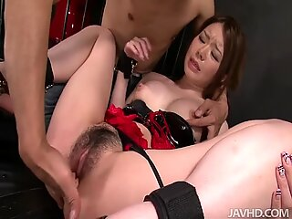 Sexy Japanese slut has an incredibly high sexual appetite.
