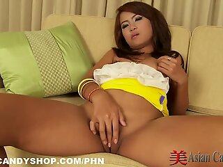 Horny Thai Teen Solo Masturbation