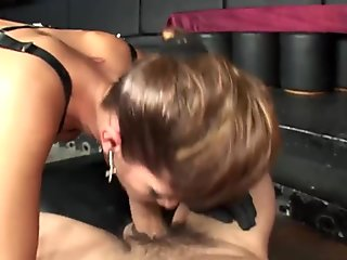horny babe gets her holes used bdsm