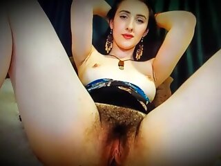 Sweet Hairy Pussy and Pretty Face