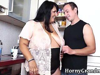 Ass fucked grandmother