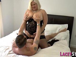 Pussy licked brit granny