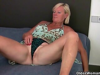grannie takes care of her orgasmic needs
