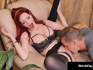 Horny Housewife Shanda Fay Gets Her Cum Filled Pussy Licked!
